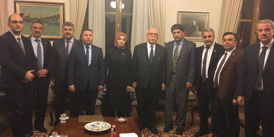 Derbent heyeti, Kültür ve Turizm Bakanı Avcı'yı ziyaret etti
