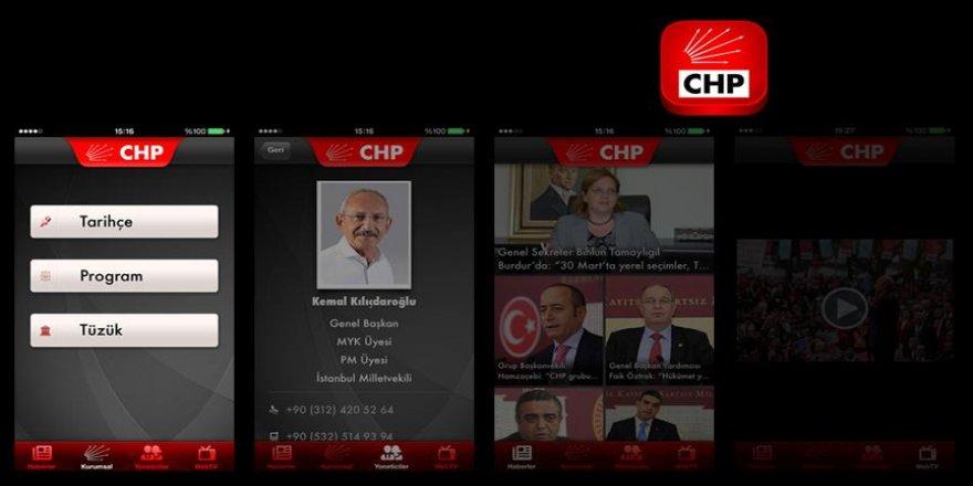 CHP'nin mobil uygulaması yenilendi