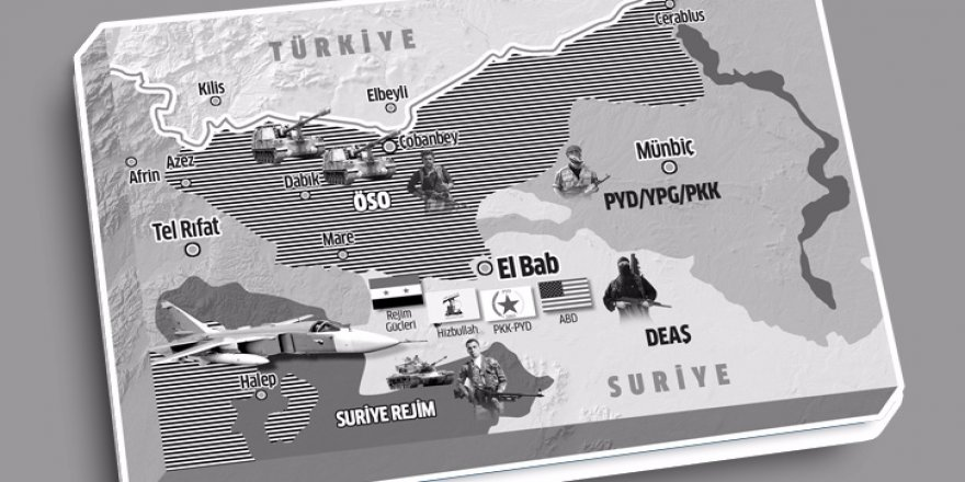 Bab'ta 63 ülkeli DEAŞ tiyatrosu