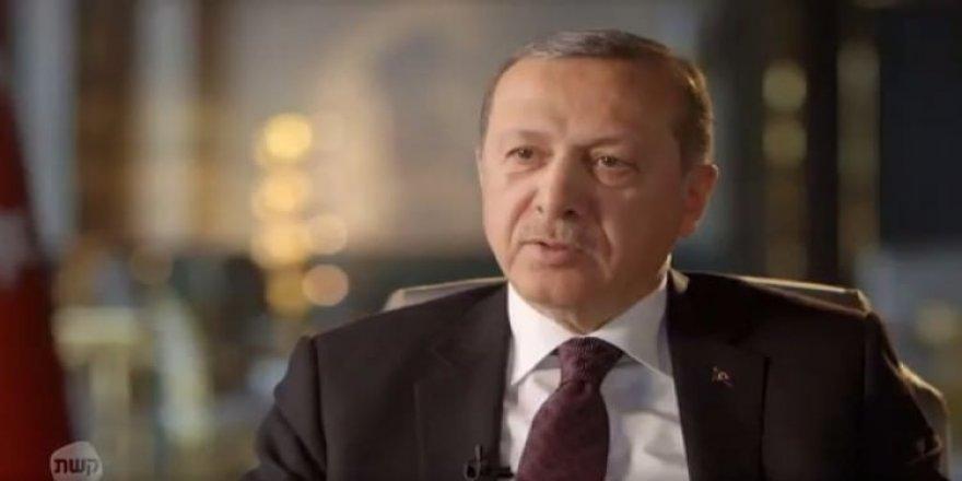 İsrail TV'si Erdoğan'la röportaj yaptı! Ünlü sunucuya efsane ayar