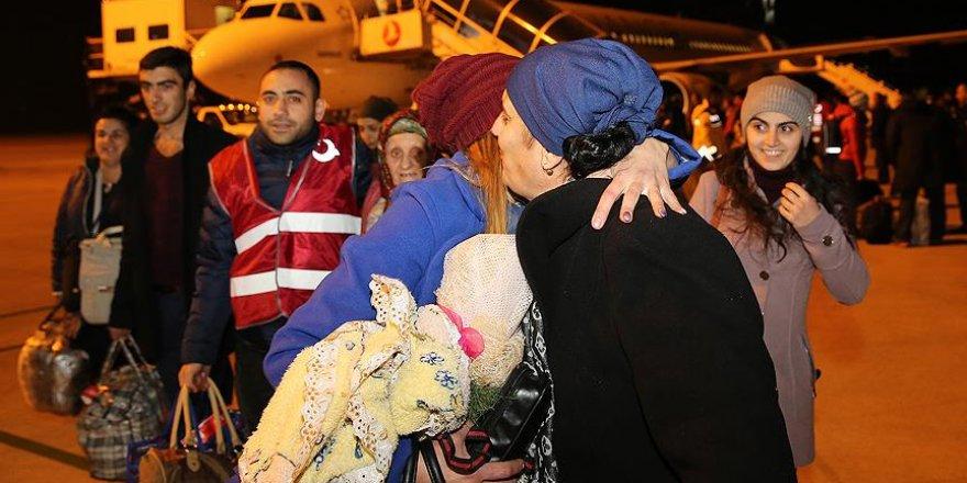 Ahıska Türklerinin dördüncü kafilesi Türkiye'de
