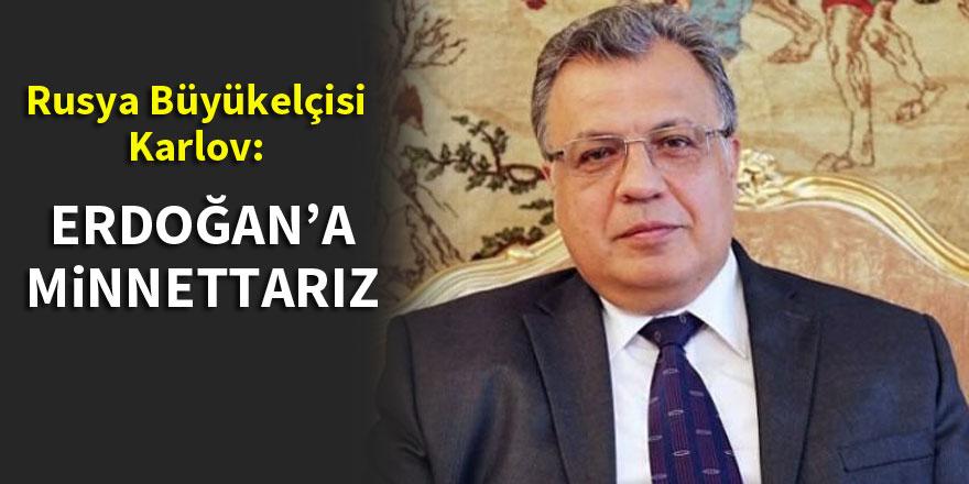 Rusya'nın Ankara büyükelçisinden flaş açıklama!