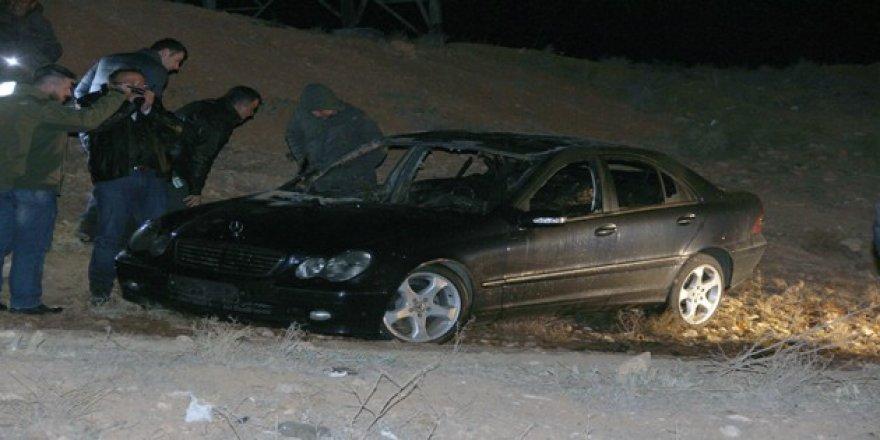Konya'da yanan otomobilden ceset çıktı!