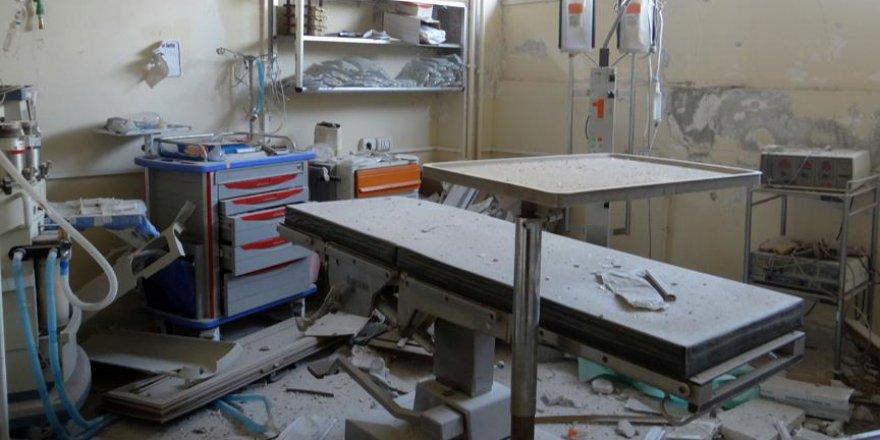 'Halep'teki hastanelerde hizmet durdu'