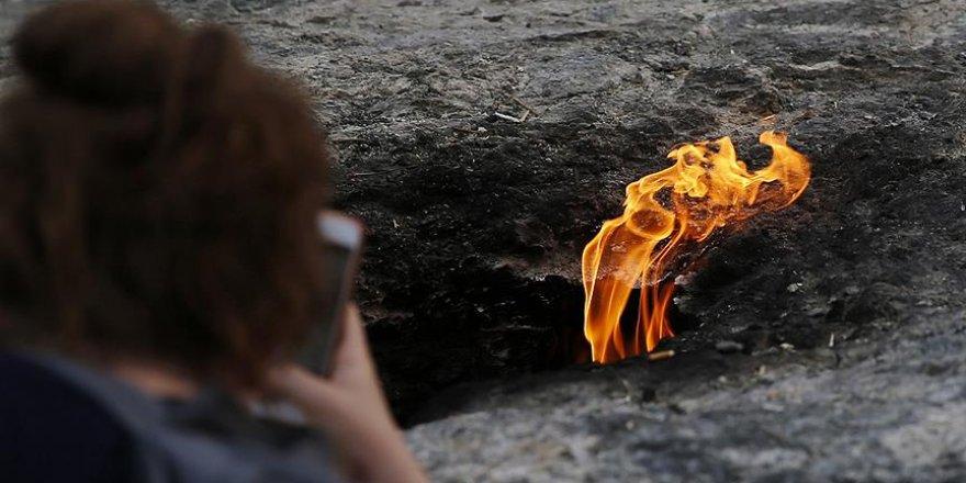 Yüzyıllardır sönmeyen ateş: Yanartaş