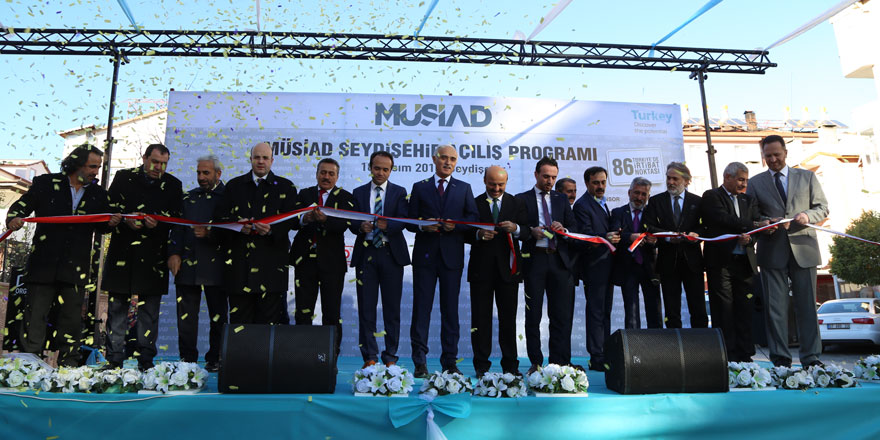MÜSİAD Seydişehir Şubesi açıldı
