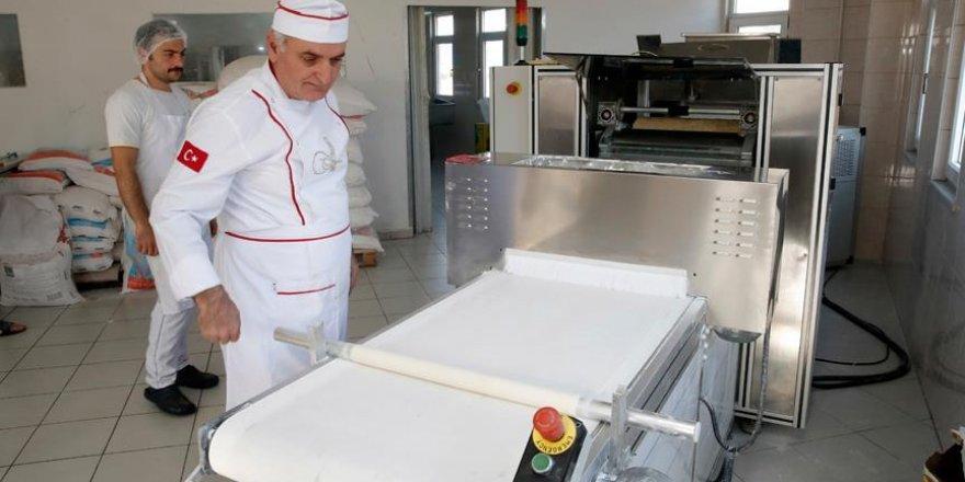 Trabzon'dan 17 ülkeye yufka makinesi