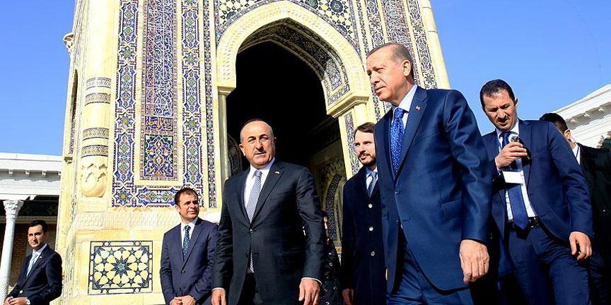 Cumhurbaşkanı Erdoğan'ın ziyareti Özbekistan basınında geniş yer buldu