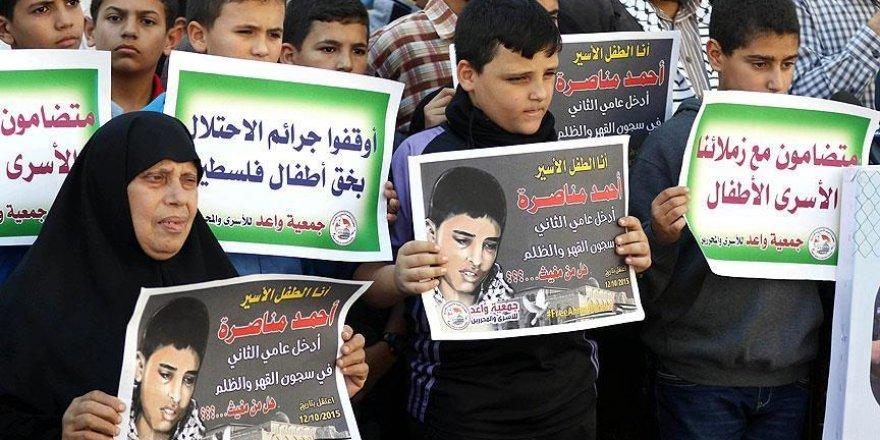 İsrail hapishanelerinde 350 Filistinli çocuk bulunuyor