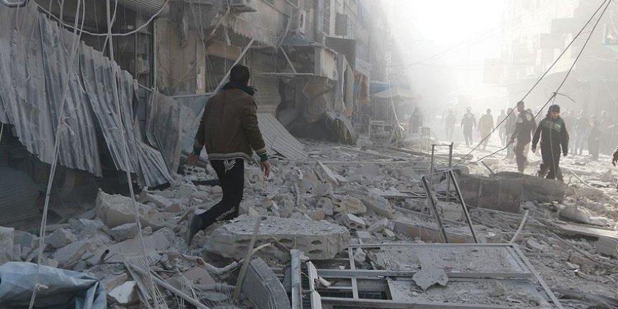 Halep ağır bombardıman altında