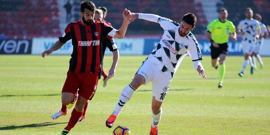 Atiker Konyaspor'un en skoreri Riad Bajic