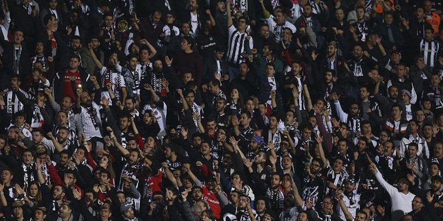 Beşiktaş'tan sessiz tezahürat