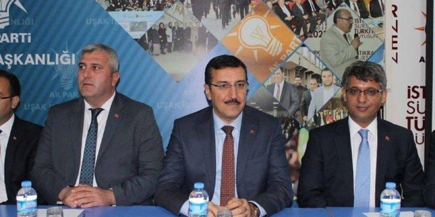 """Bakan Tüfenkci: """"Başkanlık ve Anayasa değişikliği füze gibi fırlayan bir Türkiye'yi ortaya koyacak"""""""