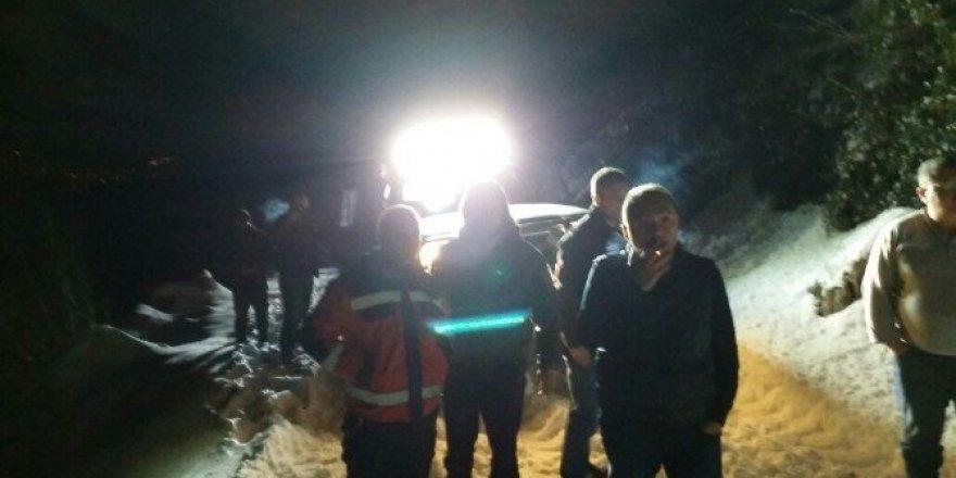 Yaylada mahsur kalan 3 kişi UMKE ekibi tarafından kurtarıldı