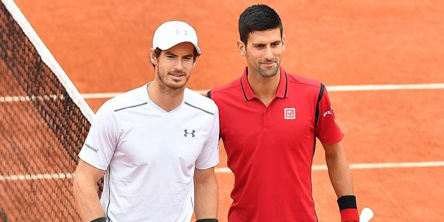 ATP'de finalin adı: Djokovic-Murray