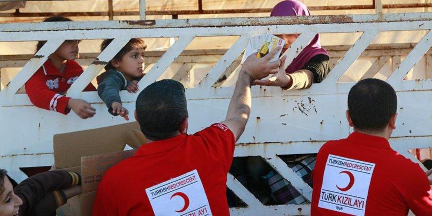 Türk Kızılayından Musul'a yardım eli