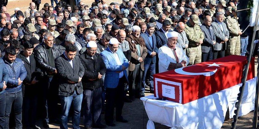 Kazada ölen uzman çavuş Kestane'nin cenazesi toprağa verildi