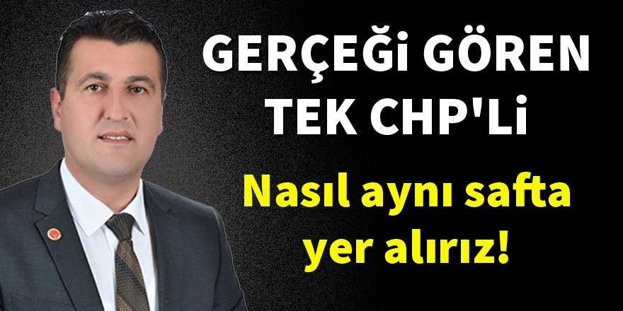 HDP gerçeğini gören tek CHP'li Erdoğan Yeşil