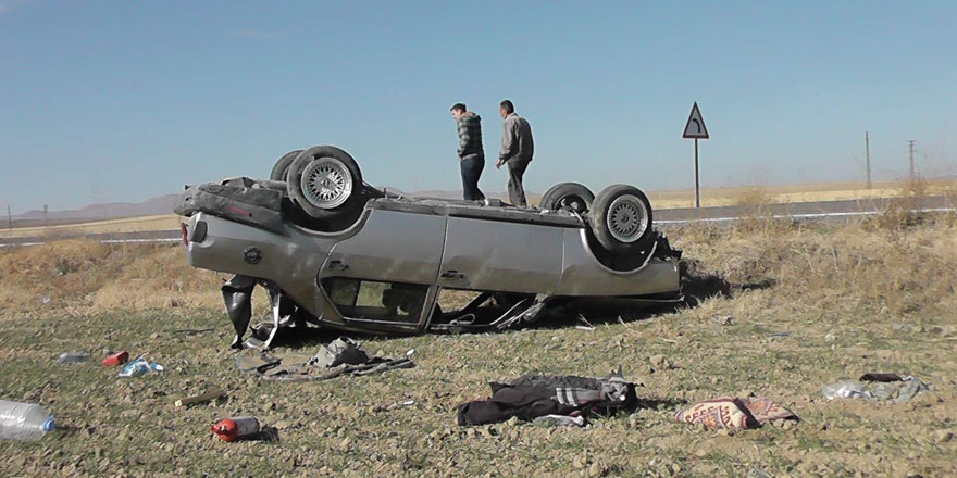 Kulu'da trafik kazası: 1 yaralı