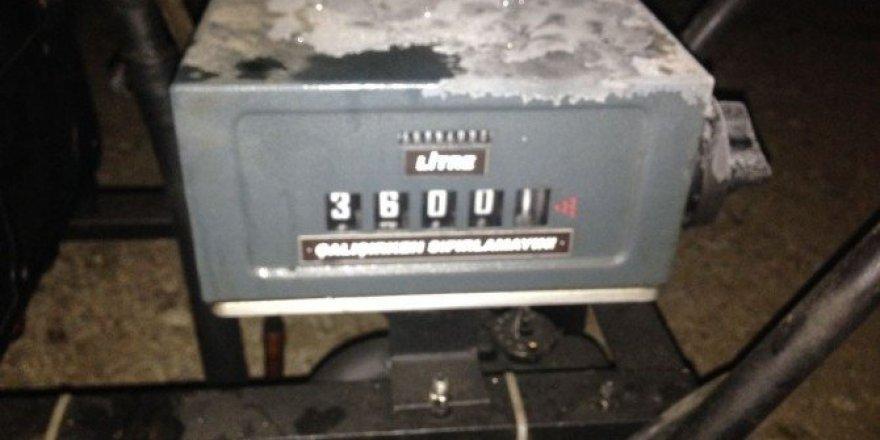 Van'da motorin kaçakçılığı