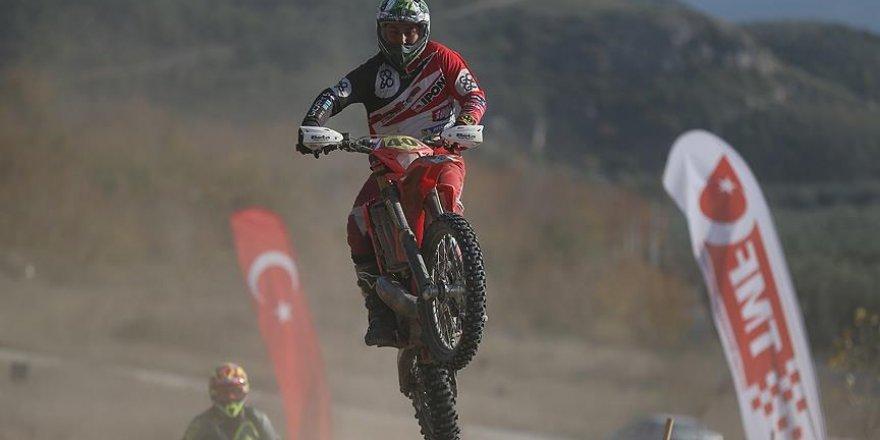 Türkiye Süper Enduro Şampiyonası'nın üçüncü ayak yarışı tamamlandı