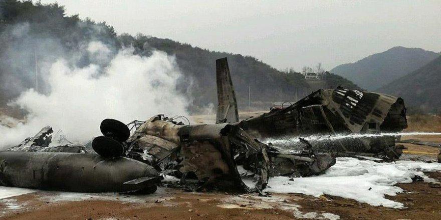 Helikopter düştü: 4 ölü