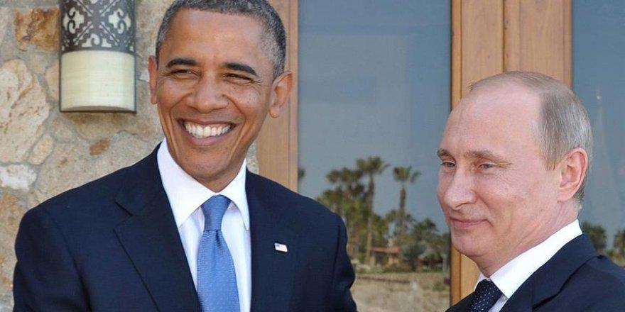 Obama ile Putin Suriye ve Ukrayna'yı görüştü
