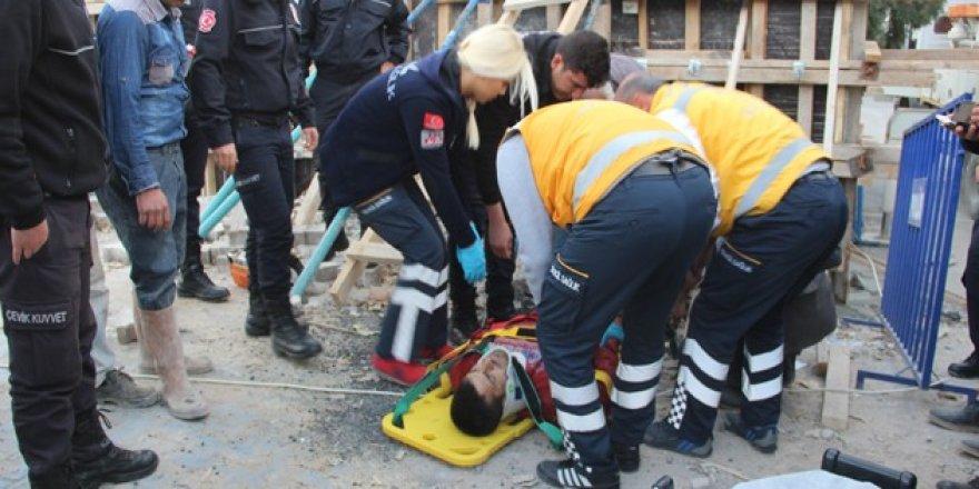 Konya'da iş kazası! İlk müdahale polislerden