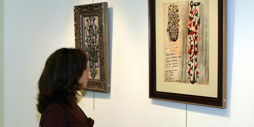 Bedri Rahmi Eyüboğlu'nun eserleri sanatseverlerle buluşacak