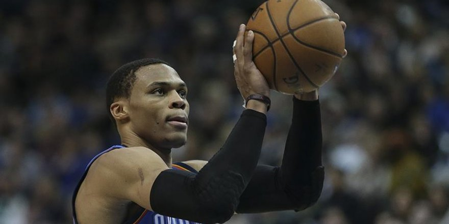 Westbrook'un 'triple double'ı Thunder'a yetmedi