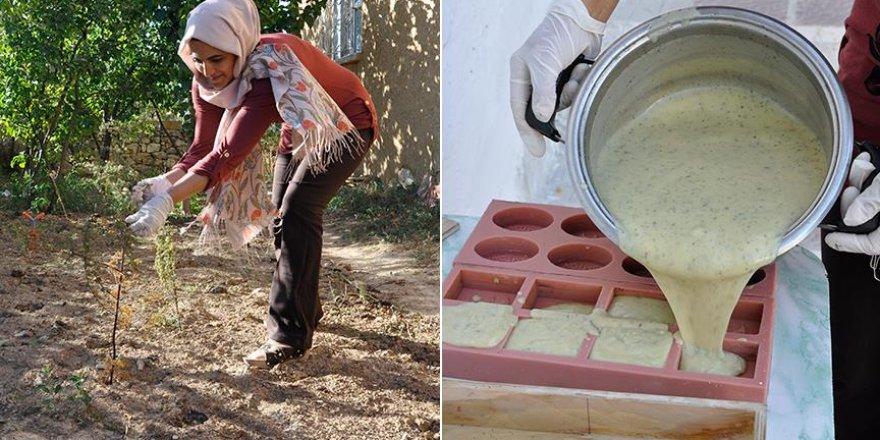 Girişimci kadınlar ekmeğini 'sabundan' çıkarıyor