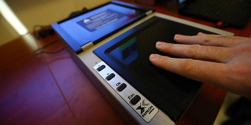 Cezaevlerinde biyometrik kontrol
