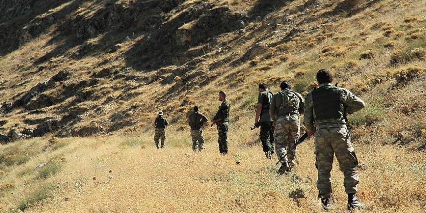 Terörle mücadele operasyonlarında çok sayıda mühimmat ele geçirildi