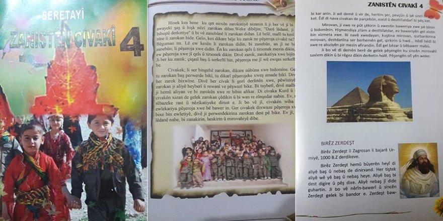 PYD/PKK, Suriye'deki ilkokullarda çocuklara 'militanlık' aşılıyor