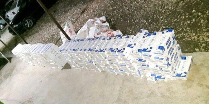 Şanlıurfa'da 138 bin paket kaçak sigara ele geçirildi