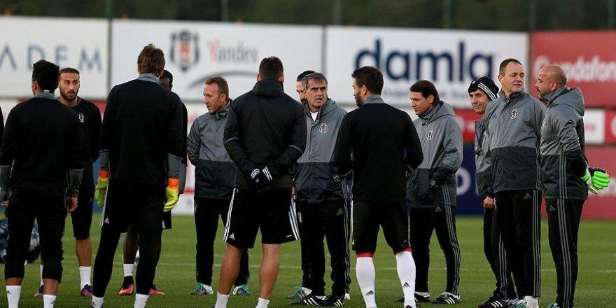 Beşiktaş'ta Benfica mesaisi sürüyor