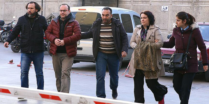 Konya'daki FETÖ soruşturmasında 16 akademisyen gözaltına alındı