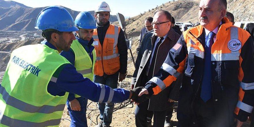 Müezzinoğlu maden faciası bölgesinde incelemede bulundu