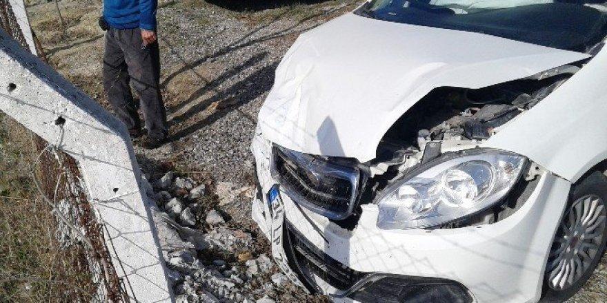 Tekirdağ'da işçi servisi ile otomobil çarpıştı: 5 yaralı