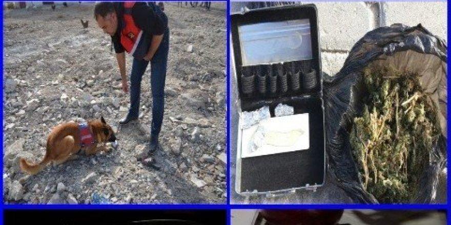 Denizli'de uyuşturucu operasyonu: 9 gözaltı