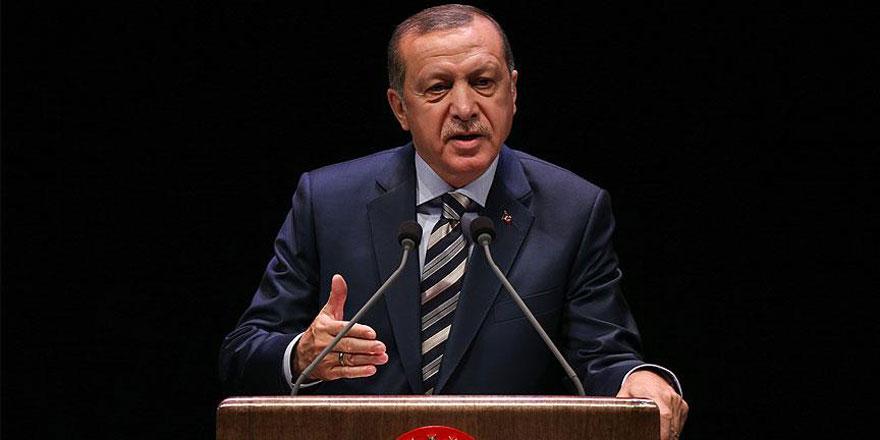Erdoğan: El Bab'a dayandık, şimdi oradan Münbiç'e doğru gideceğiz