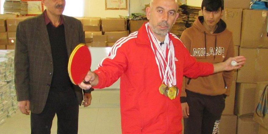 Suriyeli şampiyon tenisçi, genç yetenekler keşfetmek istiyor