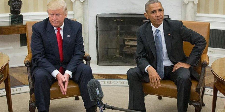 'Obama, halefi Trump ile 10 Kasım'dan sonra da görüştü'