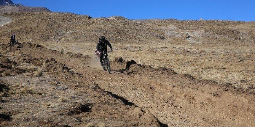 Erciyes, bisikletçilerin de gözdesi