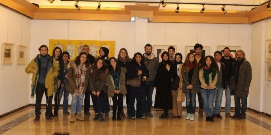 Öğrenciler Ankara sanat turunda