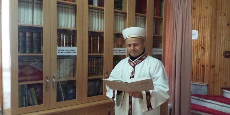 24 camide kütüphane kuruldu