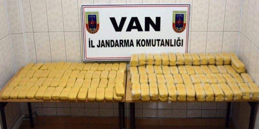Van'da 8 milyonluk uyuşturucu ele geçirildi