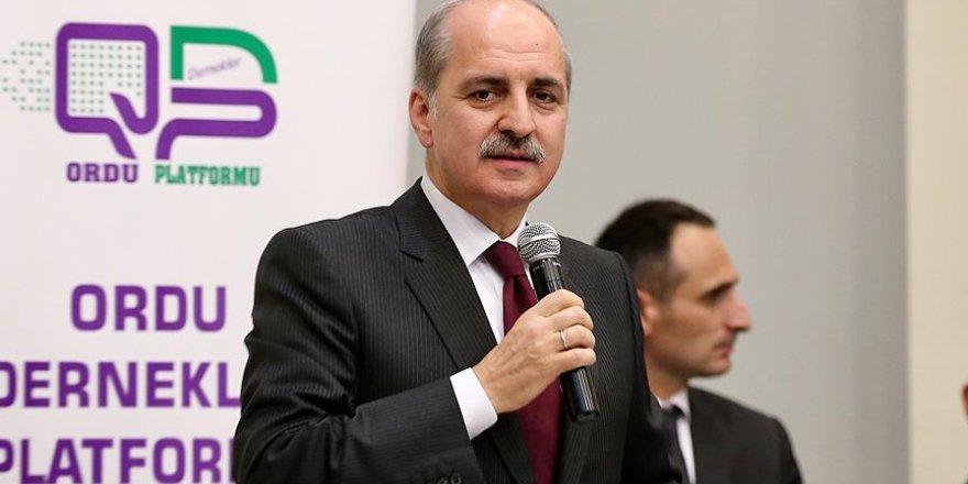 Kurtulmuş: Türkiye'nin büyük bir ülke olmasını istemiyorlar