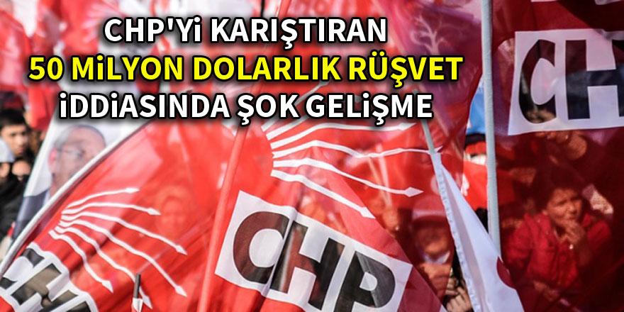 CHP'yi karıştıran 50 milyon dolarlık rüşvetin ilk duruşması yapıldı