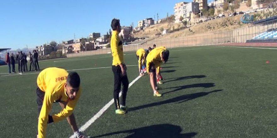 Şırnak'ta 8 ay aradan sonra ilk antrenman